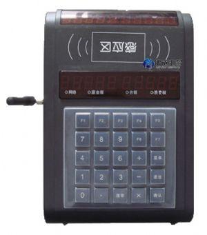 银达汇智射频卡水控器实物接线图